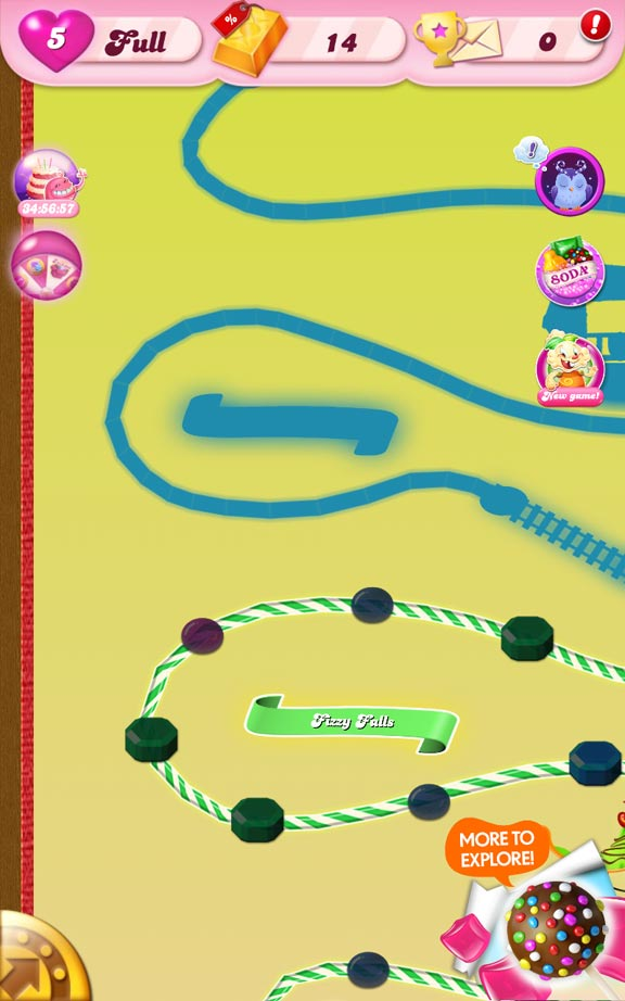 Candy Crush Saga Screen Shot